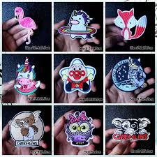 <b>Nice DIY</b> Rock Monster Patch Embroidered Patches For Clothing ...