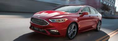 Ford Fusion Color Chart Exterior Color Options For The 2019 Ford Fusion Lineup