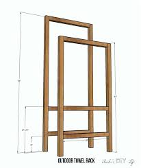 outside towel rack outside towel rack make outside frames towel rack stand towel warmer rack bed