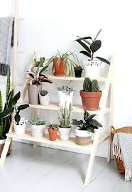 diy outdoor plant stand ladder plant stand diy outdoor hanging plant stand