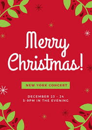 Free Christmas Flyer Templates Download Free Christmas Brochure Templates Customize 72 Christmas