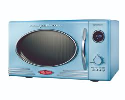 Antique Looking Kitchen Appliances Microwave For Camper Trailer Vintage Look By Nostalgia