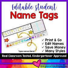 Editable Hundreds Chart Flexible Seating Or Desk Name Plates Tags Editable