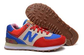 new balance shoes red and blue. 015 new balance 574 classic jogging shoes for men red / blue and z