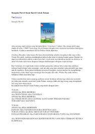 Sinopsis Novel Surat Kecil Untuk TuhanTag SinopsisSinopsis Novel :Ada  seorang anak remaja yang bernama Keke ...