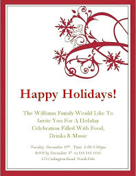 Funny Holiday Invitation Wording Bethechef Co