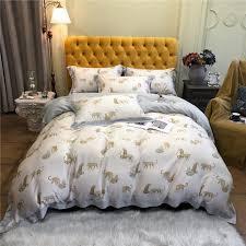 animal print bedding sheets set king
