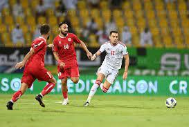 موعد مباراة سوريا والإمارات تصفيات كأس العالم 2022 والقنوات الناقلة - كورة  في العارضة