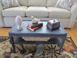 painted coffee table ideasrepurposed table ideas  My Repurposed Life