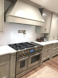 custom kitchen remodel snless range greenville