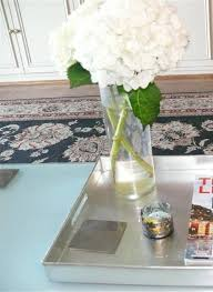 Coffee Table Tray Decor Silver Coffee Table Tray With Magazine And Glass Vase Coffee