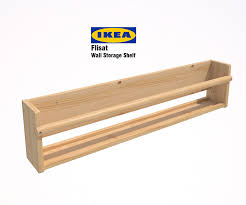 ikea flisat wall storage shelf