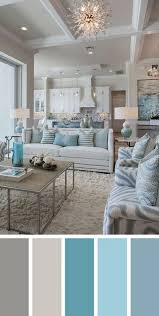 Silver and white accents keep the space light, and. On Style Today 2021 01 25 Cool Blue Gray Living Room Ideas Here