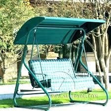 swing bench outdoor metal swing bench metal hammock chair garden swing bench canopy 2 metal swing