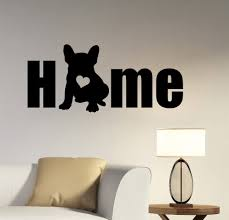 French Bulldog Color Chart Us 6 18 25 Off Dog Silhouette Wall Decal Removable Vinyl French Bulldog Wall Sticker Animal Home Decoration Pet Salon Wall Mural Poster Ay480 In