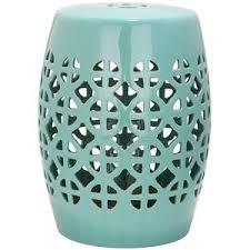 blue garden stool. Image Is Loading 18-5-034-Robins-Egg-Blue-Ceramic-Barrel- Blue Garden Stool O