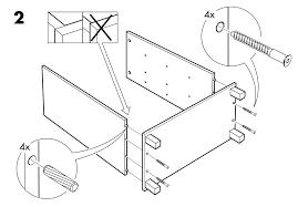 Ikea Instruction Manuals Image For Ikea Furniture Assembly Instructions Capstone