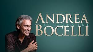 Andrea Bocelli 2019 Usa Tour Capital One Arena