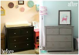 dresser before after collage