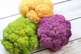 cauliflower. Plain Cauliflower Sweet And Spicy TriColored Cauliflower  Recipe Lowcarb Easy Throughout