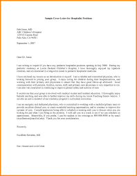 Physician Cover Letter Sample Recruiter Example Job Examples