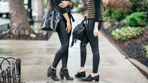 women are straight up obsessed with these flattering faux leather leggings