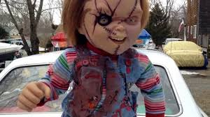 life size chucky doll sideshow collectibles seed of chucky 1 1 scale life size doll youtube