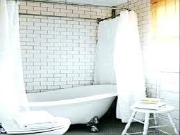 shower curtain tub curtains for ideas make rod clawfoot bathtub is there a w tub shower curtain rod clawfoot ideas