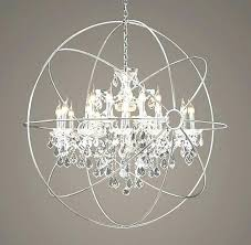 orb crystal chandelier orb crystal chandelier for iron orb crystal chandelier