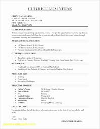 College Golf Resume Best Of Example Resumes Fresh Resume Templates