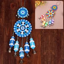 What Stores Sell Dream Catchers DIY Dream Catcher Windbell Kit Perler 100mm Fuse Beads Kid Craft Toy 78