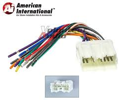 mitsubishi car stereo cd player wiring harness wire aftermarket American International Wiring Harness american international dwh612 standard wiring harness american international gwh404 radio wiring harness
