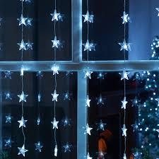 Curtain Led Lights Uk Star Led Curtain Light