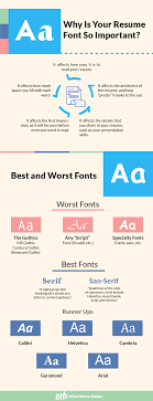 Magnificent Best Resume Fonts To Use Pictures Inspiration