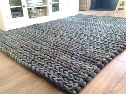 chunky wool rug chunky knit rug braided wool restoration hardware large size of throw betiful luxury chunky wool rug