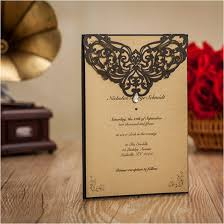 online get cheap printing wedding invitations aliexpress com Online Wedding Invitation Printing high class black vingtage wedding invitation cards flower laser cut custom printing envelopes bridal shower online wedding invitation printing services
