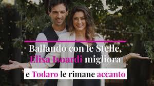 Elisa Isoardi migliora e Raimondo Todaro le rimane accanto - Video Virgilio