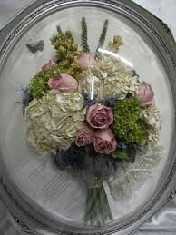 more preserved wedding flowers before restoration and after