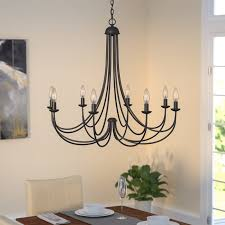 buckland 8 light candle style chandelier