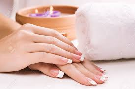 towel spa. Exellent Spa Female Hands With Aromatic Candles And Towel Spa Stock Photo  18376621 In Towel