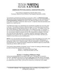 Apa Citation Guide By Texas State Writing Center Issuu