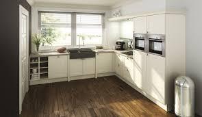 Moderne Einbauküche Classica 2300 Magnolie Küchen Quelle