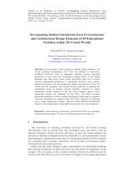 Pdf Investigating Student Satisfaction From Environmental