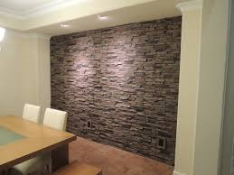 Painting Fake Brick Paneling Faux Stone Panels Not The Photo I Love Waterfall One Is Better