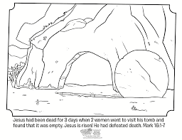 Jesus On Cross Coloring Page - Kids Coloring