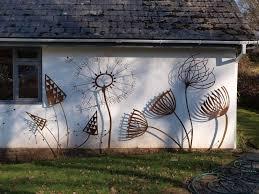 metal garden art metal yard art