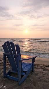 adirondack chairs on beach sunset. Brilliant Beach Sandy Beach With Blue Adirondack Chair For Chairs On Sunset O