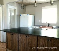 matte black granite counter tops on a wood island leathered granite countertops installed
