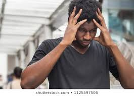Image result for a disappointed black man in bed