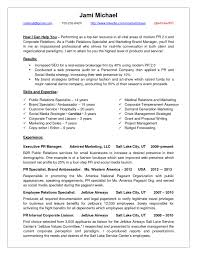 Sample Public Relations Manager Resume 19 20 Well Crafted Samples  Communications Jami Employee